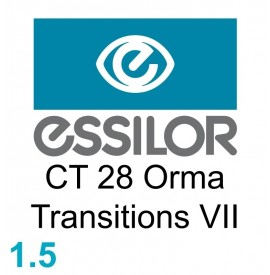 Essilor CT 28 Orma Transitions VII