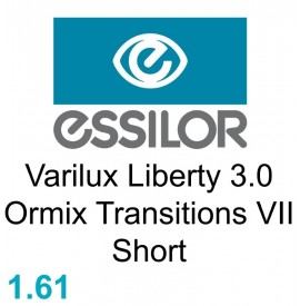 Essilor Varilux Liberty 3.0 Ormix Transitions VII Short