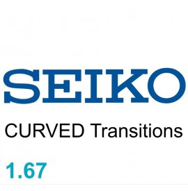 SEIKO CURVED 1.67 Transitions