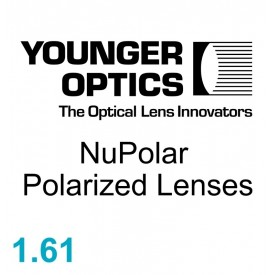 YOUNGER OPTICS NuPolar Polarized Lenses 1.61