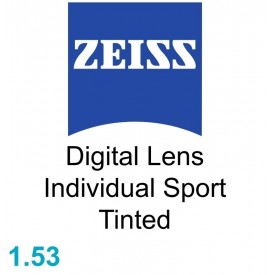 Zeiss Digital Lens Individual Sport 1.53 Tinted