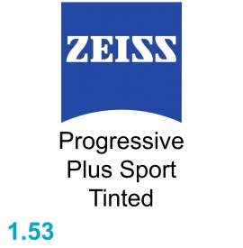 Zeiss Progressive Plus Sport 1.53 Tinted