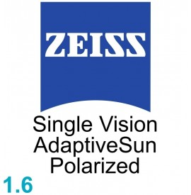 Zeiss Single Vision Sph 1.6 AdaptiveSun Polarized