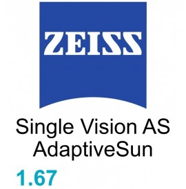 Zeiss Single Vision  AS 1.67 AdaptiveSun