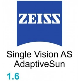 Zeiss Single Vision  AS 1.6 AdaptiveSun