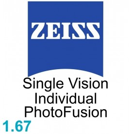 Zeiss Single Vision Individual 1.67 PhotoFusion