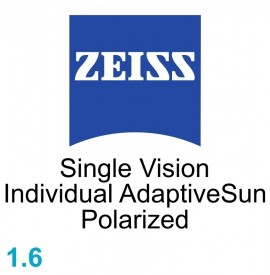 Zeiss Single Vision Individual 1.6 AdaptiveSun Polarized