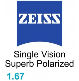 Zeiss Single Vision Superb 1.67 Polarized